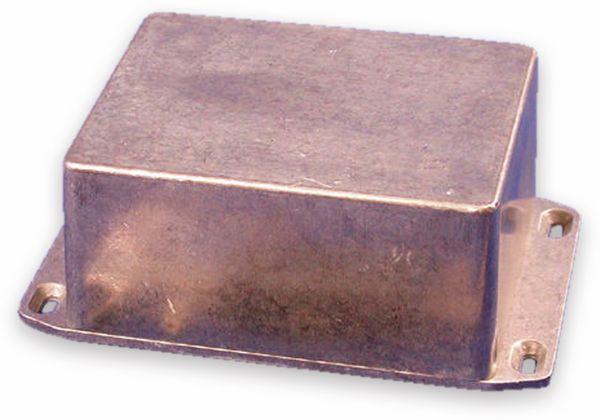 Hammond, Aluminium-Gehäuse, 1590CFL, 120x94x56,5 mm, mit Befestigungsflansch