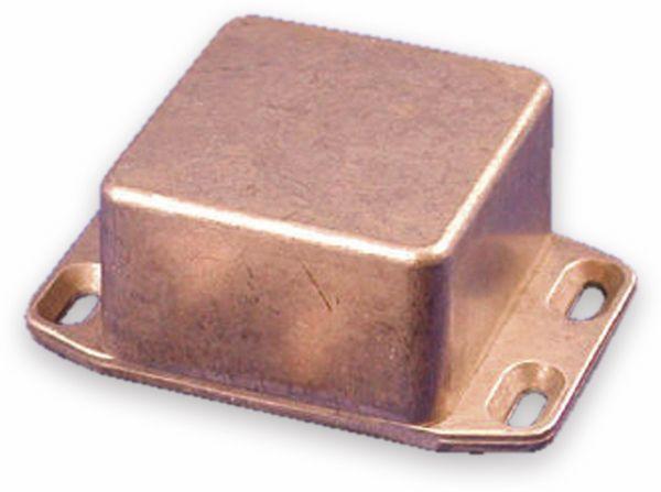 Hammond, Aluminium-Gehäuse, 1590LBFL, 50,5x50,5x31 mm, mit Befestigungsflansch