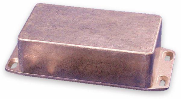 Hammond, Aluminium-Gehäuse, 1590N1FL, 121,1x66x39,3 mm, mit Befestigungsflansch