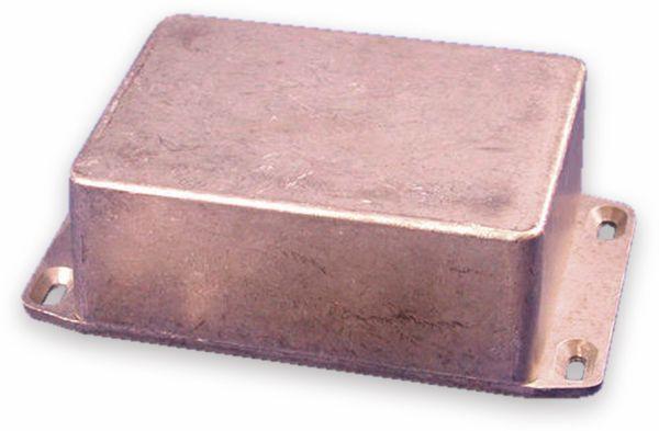 Hammond, Aluminium-Gehäuse, 1590SFL, 110,5x81,5x44 mm, mit Befestigungsflansch