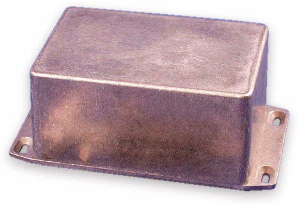 Hammond, Aluminium-Gehäuse, 1590TFL, 120,5x79,5x59 mm, mit Befestigungsflansch
