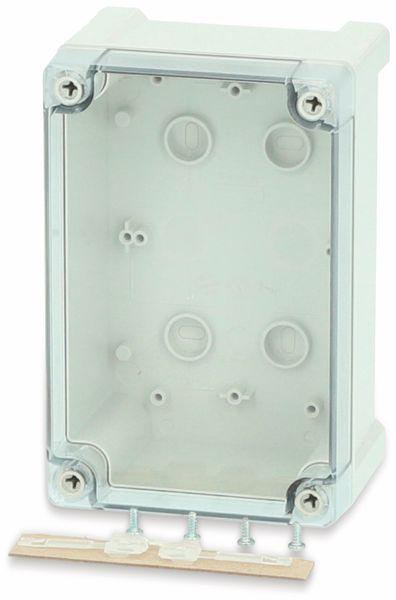 Gehäuse, FIBOX, Tempo TPC 191209T, 187x122x90, PC Gehäuse,Scharnier,transparenter Deckel
