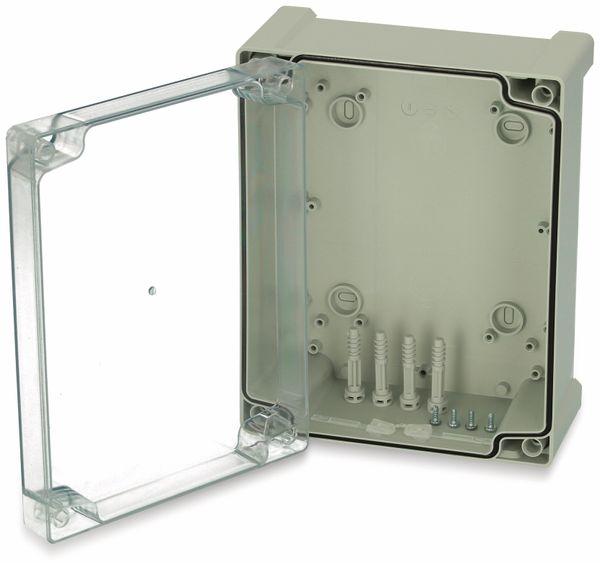 Gehäuse, FIBOX, Tempo TPC 241911T, 240x191x107, PC Gehäuse,Scharnier,transparenter Deckel
