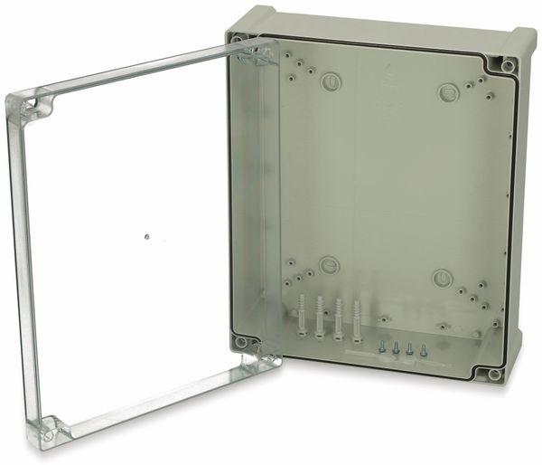 Gehäuse, FIBOX, Tempo TPC 342912T, 344x289x117, PC Gehäuse,Scharnier,transparenter Deckel