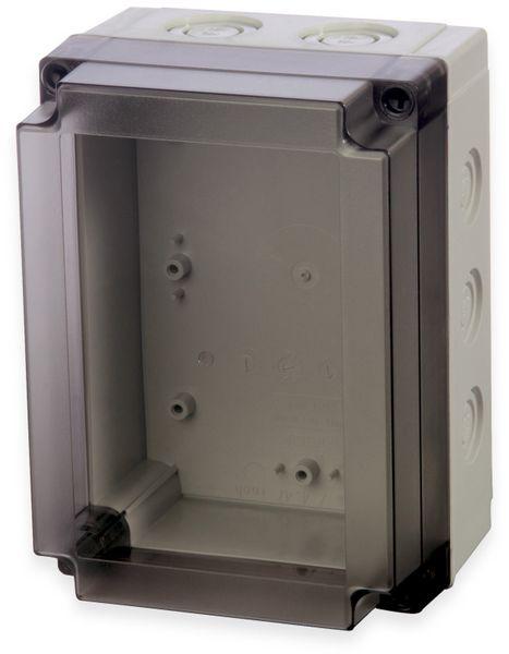 Gehäuse, FIBOX, MNX PCM 150/100 T, 180x130x100, PC Gehäuse m.Vorprägungen,transparenter Deckel