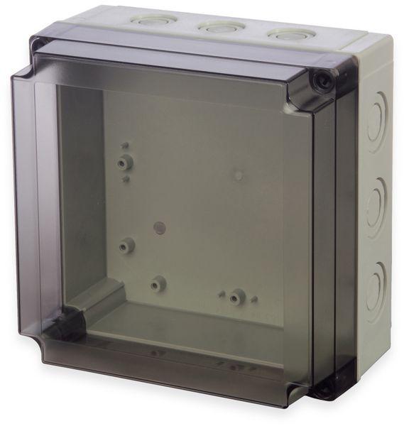 Gehäuse, FIBOX, MNX PCM 175/100 T, 180x180x100, PC Gehäuse m.Vorprägungen,transparenter Deckel