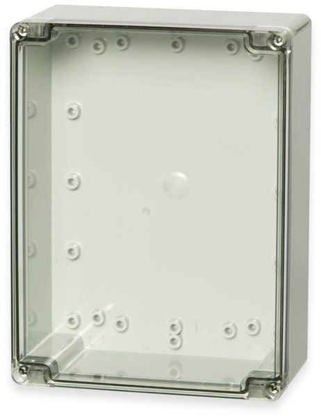 Gehäuse, FIBOX, Euronord PCT 152008, 201x151x80, PC Gehäuse, transparenter Deckel