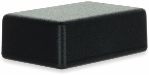 Gehäuse, TEKO, SR01.9, ABS , Schwarz, 57x38x20 mm