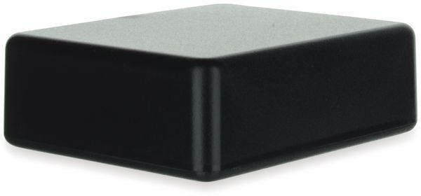 Gehäuse, TEKO, SR22.9, ABS , Schwarz, 76x63,5x26 mm