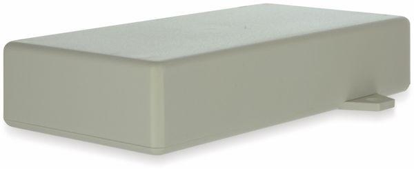 Gehäuse, TEKO, SR33-E.7, ABS , Weiß, 128x64x26 mm, mit Befestigungsflansch