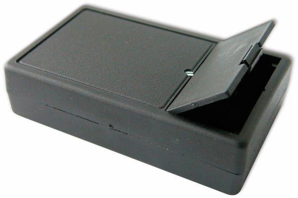 Kunststoffgehäuse, Kemo , G01B, 102x61x26 mm, Thermoplast/PS, schwarz