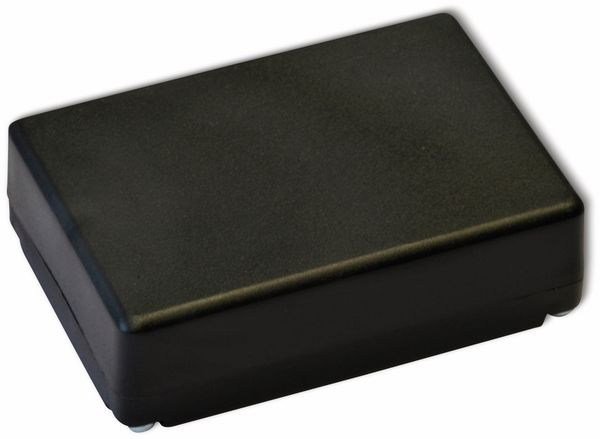 Kunststoffgehäuse, Kemo , G025N, 72x50x22 mm, Thermoplast/PS, schwarz