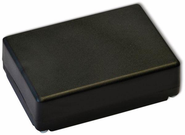 Kunststoffgehäuse, Kemo , G026N, 72x50x28 mm, Thermoplast/PS, schwarz