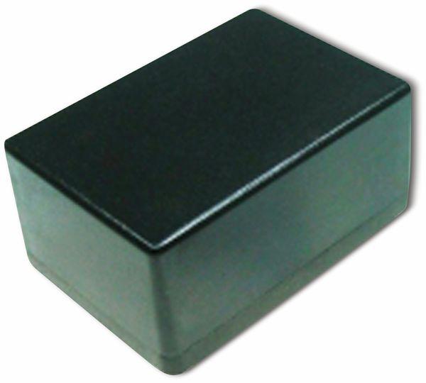 Kunststoffgehäuse, Kemo , G027N, 72x50x35 mm, Thermoplast/PS, schwarz