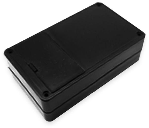 Kunststoffgehäuse, Kemo , G03B, 104x62x30 mm, Thermoplast/PS, schwarz