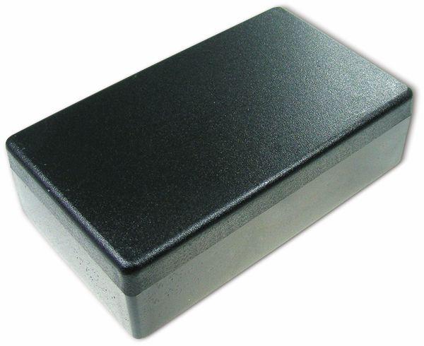 Kunststoffgehäuse, Kemo , G081N, 120x70x35 mm, Thermoplast/PS, schwarz