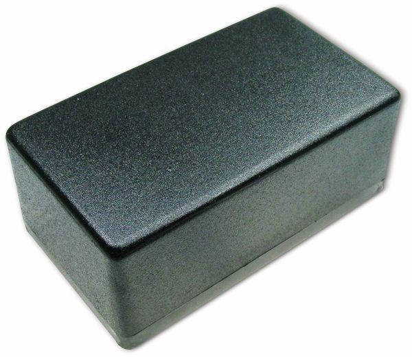 Kunststoffgehäuse, Kemo , G082N, 120x70x50 mm, Thermoplast/PS, schwarz