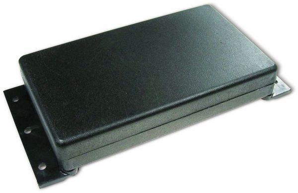 Kunststoffgehäuse, Kemo , G084, 120x70x20 mm (ohne Befestigungslaschen), Thermoplast/PS, schwarz