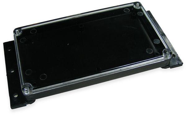 Kunststoffgehäuse, Kemo , G088, 120x70x15 mm (ohne Befestigungslaschen), Thermoplast/PS, schwarz