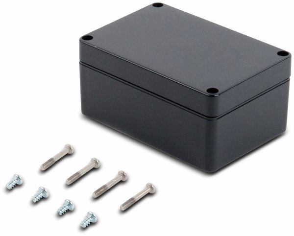 Universalgehäuse, POLLIN, ABS, 120 x 80 x 55 mm, IP66, schiefergrau