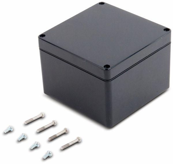 Universalgehäuse, POLLIN, ABS, 122 x 120 x 85 mm, IP66, schiefergrau