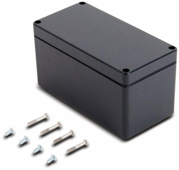 Universalgehäuse, POLLIN, ABS, 160 x 80 x 85 mm, IP66, schiefergrau