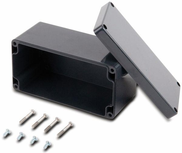 Universalgehäuse, POLLIN, ABS, 160 x 80 x 85 mm, IP66, schiefergrau - Produktbild 2