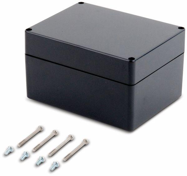 Universalgehäuse, POLLIN, ABS, 160 x 120 x 90 mm, IP66, schiefergrau