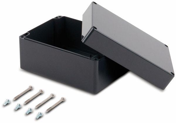 Universalgehäuse, POLLIN, ABS, 160 x 120 x 90 mm, IP66, schiefergrau - Produktbild 2