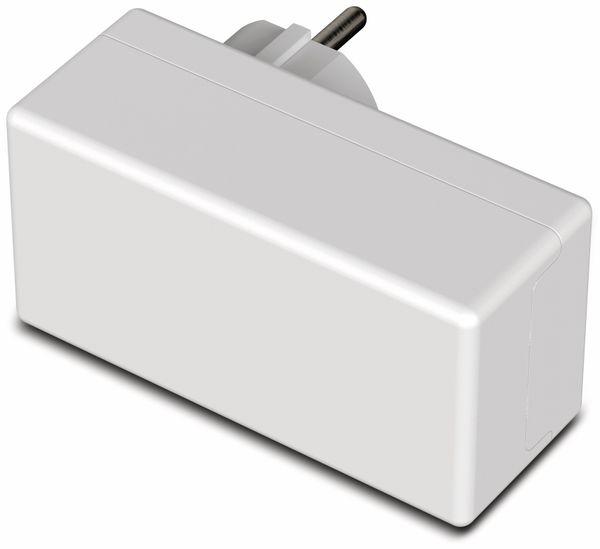 Steckergehäuse, BOPLA, Eletec, PC/ABS-Blend, 100 x 50 x 40 mm, IP40, weiß