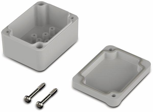 Universalgehäuse, BOPLA, Euromas II, ABS, 65 x 50 x 37 mm, IP65, lichtgrau - Produktbild 2