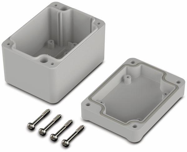 Universalgehäuse, BOPLA, Euromas II, ABS, 82 x 60 x 57 mm, IP65, lichtgrau - Produktbild 2