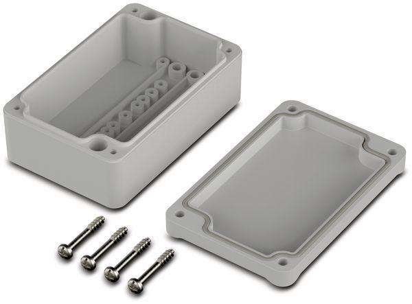 Universalgehäuse, BOPLA, Euromas II, ABS, 98 x 64 x 38 mm, IP65, lichtgrau - Produktbild 2