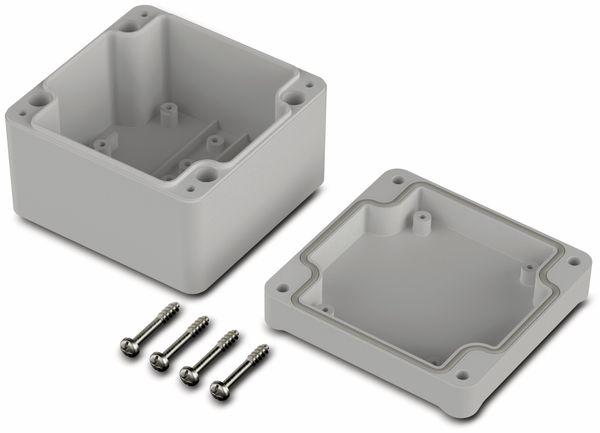 Universalgehäuse, BOPLA, Euromas II, ABS, 82 x 80 x 57 mm, IP65, lichtgrau - Produktbild 2