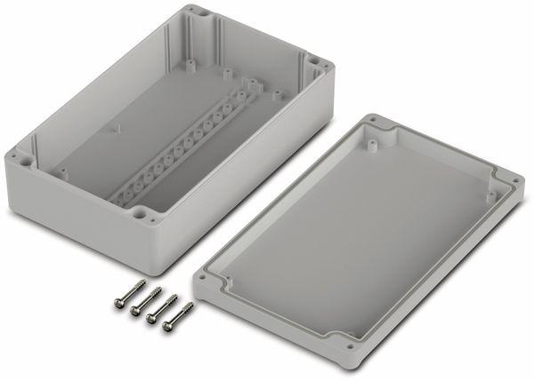 Universalgehäuse, BOPLA, Euromas II, ABS, 200 x 120 x 57 mm, IP65, lichtgrau - Produktbild 2