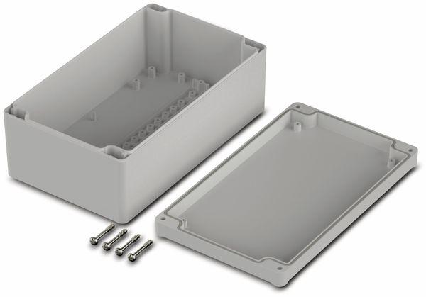 Universalgehäuse, BOPLA, Euromas II, ABS, 200 x 120 x 77 mm, IP65, lichtgrau - Produktbild 2