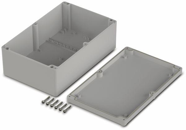 Universalgehäuse, BOPLA, Euromas II, ABS, 250 x 160 x 92 mm, IP65, lichtgrau - Produktbild 2