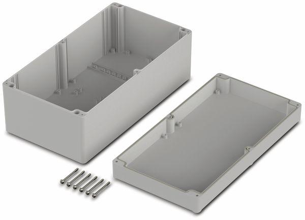 Universalgehäuse, BOPLA, Euromas II, ABS, 300 x 160 x 120 mm, IP65, lichtgrau - Produktbild 2