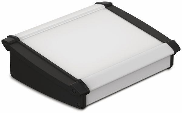 Pultgehäuse, BOPLA, Alu-Topline, Aluminium / ABS, 181,2 x 200 x 68,2 mm, IP54, naturfarben / schwarz