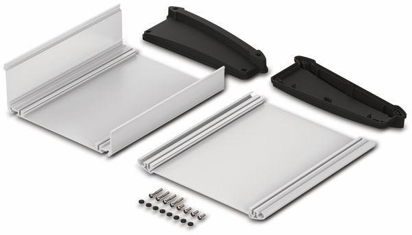 Pultgehäuse, BOPLA, Alu-Topline, Aluminium / ABS, 181,2 x 200 x 68,2 mm, IP54, naturfarben / schwarz - Produktbild 2