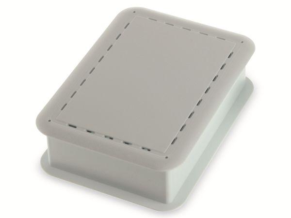 Gehäuse, TEKO TEK-SBC.0, ABS + PC, Weiß, 100,8 x 73,7 x 29,25 mm