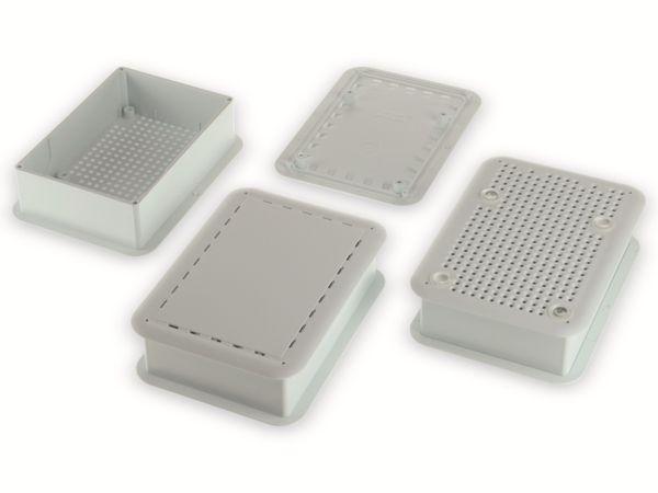 Gehäuse, TEKO TEK-SBC.0, ABS + PC, Weiß, 100,8 x 73,7 x 29,25 mm - Produktbild 2
