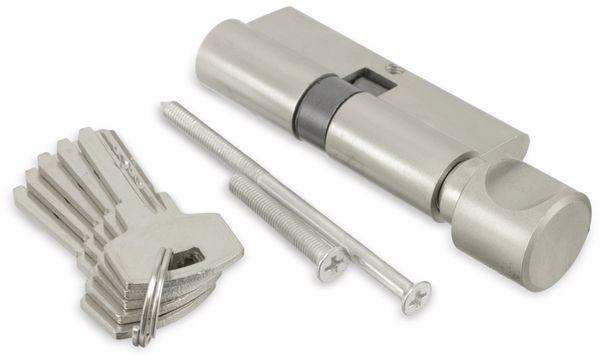 Sicherheits-Schließzylinder mit Knauf MASTERPROOF 1017-PJXY, 70 mm - Produktbild 1