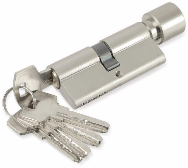 Sicherheits-Schließzylinder mit Knauf MASTERPROOF 1017-PJXY, 70 mm - Produktbild 4