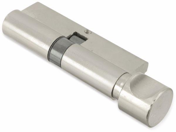 Sicherheits-Schließzylinder mit Knauf MASTERPROOF 1018-PJXY, 80 mm - Produktbild 2