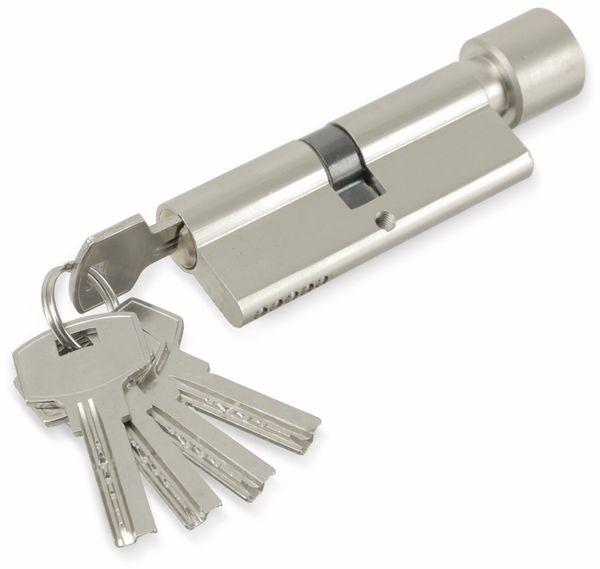 Sicherheits-Schließzylinder mit Knauf MASTERPROOF 1018-PJXY, 80 mm - Produktbild 4