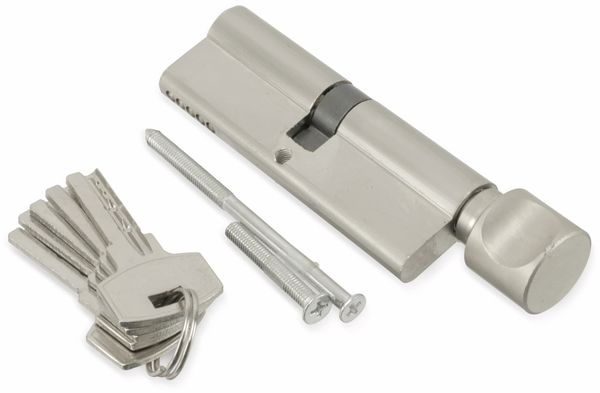 Sicherheits-Schließzylinder mit Knauf MASTERPROOF 1019-PJXY, 90 mm - Produktbild 1