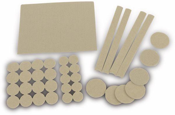Möbelgleiter-Set EUROTOOLS 349-NBFR, 38-teilig - Produktbild 1