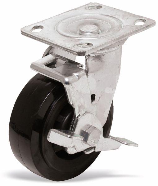 Lenkrolle für Werkstattwagen, 4110, Pro+, Fußbremse im Radiallager