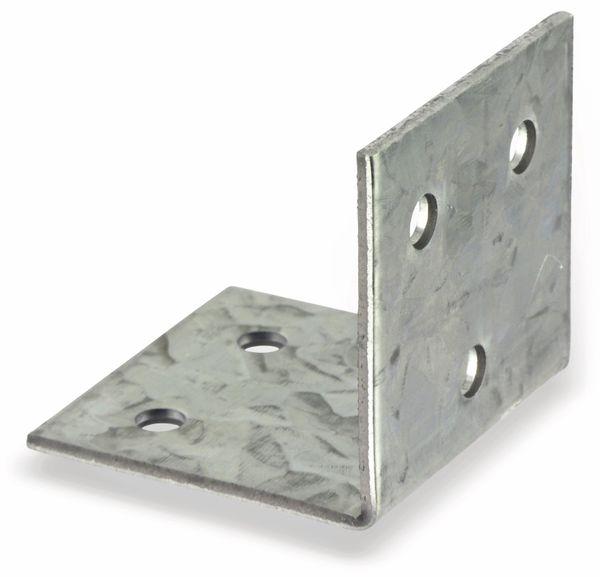 Winkelverbinder 40x40x40x2 mm, 10 Stück - Produktbild 2